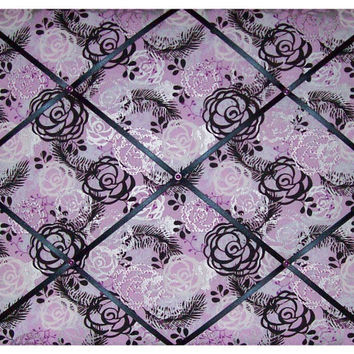 Purple Garden French Memo Board by toilechicboutique on Etsy