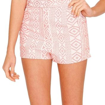 Desert Palm Shorts - Pink