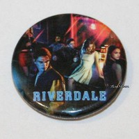 "Licensed cool CW RIVERDALE High Cast Group Characters 1 1/4"" Button Pin Back Pinback Licensed"