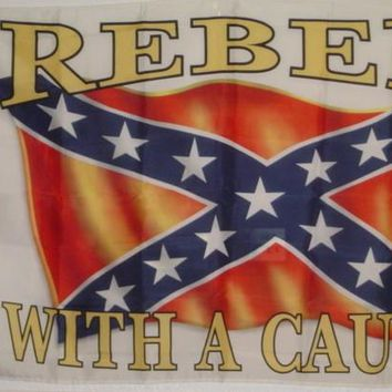 Rebel With A Cause Flag