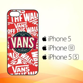 vans 1996 logo Z3214  iPhone 5|5S|SE Case