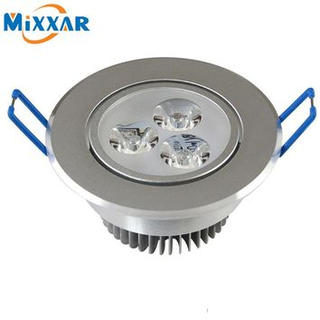 RU ZK35 LED Spotlight 9W 12W 15W LED Recessed Cabinet Wall Spot Down light Ceiling Lamp LED Downlight Dimmable For Home Lighting