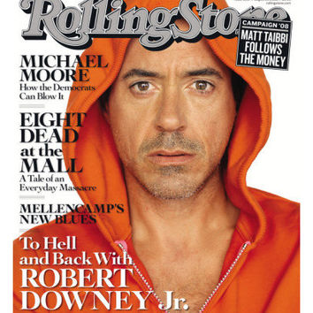 To Hell and Back With Robert Downey Jr, Rolling Stone no. 1059, August 2008 Photographic Print by Sam Jones at AllPosters.com