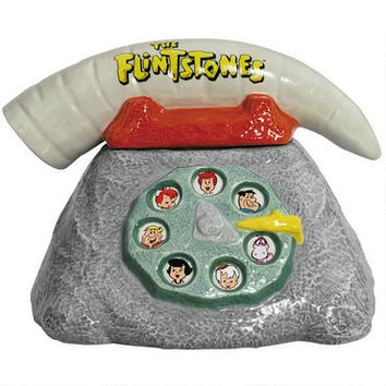 The Flintstones Telephone Cookie Jar |