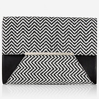 ZIG ZAG ENVELOPE CLUTCH from EXPRESS