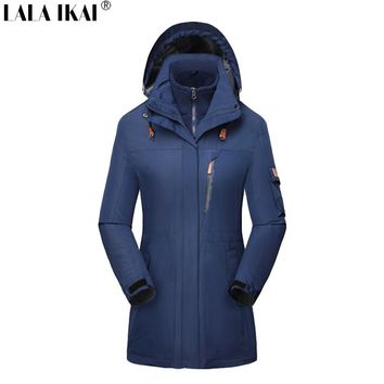 Women  Outdoor Long Jackets  -Three in one Trekking Clothes