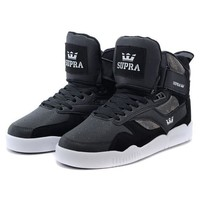 SUPRA Bleeker Woman Men Fashion High-Top Flats Shoes