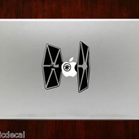 Star Wars Starfighter Jedi Starwars Decals Stickers For Macbook 13 Pro Air Decal