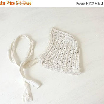Shop Vintage Baby Bonnet On Wanelo