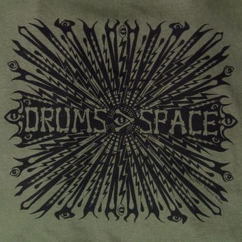 "Discounted/Discontinued The ""Drums & Space Shirt"" Grateful Dead Rhythem Devils Experimental Music Shakedown Lot T-Shirt in Small only"