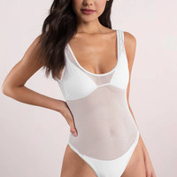 Let's Connect One Piece Swimsuit