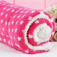 10 colors coussin chien flannel soft Warm dog pets blanket tapis chien manta perro B67