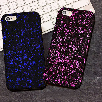 luxury hard case for apple iphone 5 s 5s se 4 4s by 3d cases bling glitter stars star protective to matte fashion back cover