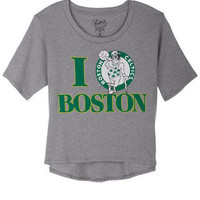 I Heart Boston Celtics Tee