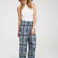 Ornate Kaleidoscope Print Pants