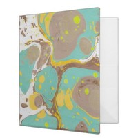 Beautiful Marble Designed Avery Three Ring Binder