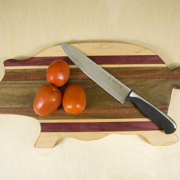 Wooden Pig Cutting Board