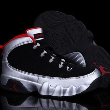 Nike Jordan Kids Air Jordan 9 Retro 302370-012 Kids Sneaker Shoe US 11C - 3Y