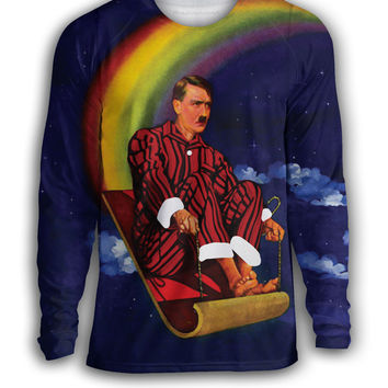 Christmas Rainbow Hitler Sweater