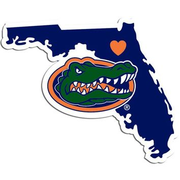 ONETOW NCAA Florida Gators Home State Decal