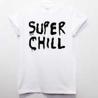 super chill smiley face shirt