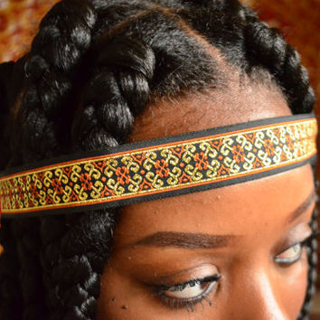 Regal Crown | Hippie Headband | Boho Headband