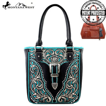 Montana West MW217G-8561 Concealed Carry Handbag