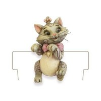 Disney Traditions designed by Jim Shore for Enesco Marie Planter Adornment 2.25 IN