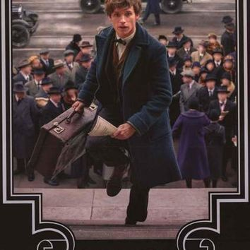 Fantastic Beasts Newt Movie Poster 22x34