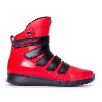 Red/Black Prime Trainer Bodybuilding Sneaker