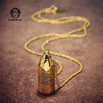 Han Cholo 40 oz. Stainless Steel Necklace