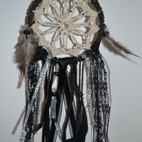 Black & Silver Dream Catcher