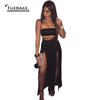 2017 sexy rompers women summer off the shoulder open fork two pieces jumpsuit vintage cropped casual overalls combinaison femme
