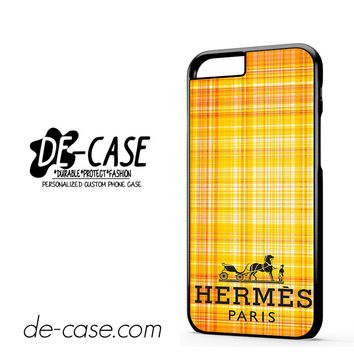 Hermes Pais Pattern For Iphone 6 Iphone 6S Iphone 6 Plus Iphone 6S Plus Case Phone Case Gift Present YO