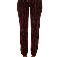 The Lola Sweatpant in Burgundy