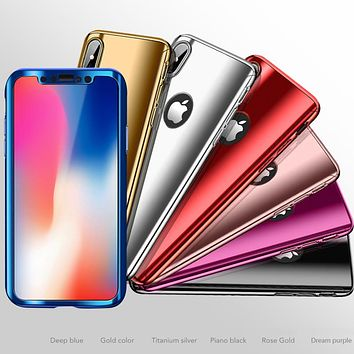 360 Full Protection Mirror Case for iPhones
