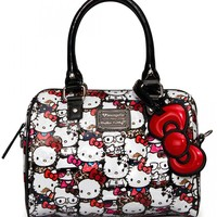 """Hello Kitty All Stars"" Mini City Handbag by Loungefly (Multi)"