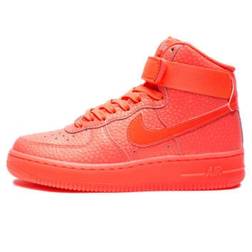 NIKE WOMEN'S AIR FORCE 1 HI PRM - HOT LAVA | Undefeated