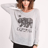CALIFORNIA TRIBE SWEATER