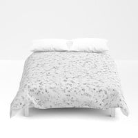 White Marble duvet cover
