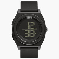 Nixon Time Teller Digi Watch Black One Size For Men 25574110001