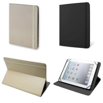 """10 inch Folio Stand Case Cover for 10'' 10.1"""" Google Android Tablet iPad 2 3 4"""