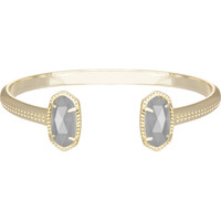 ELTON GOLD BRACELET IN SLATE by Kendra Scott