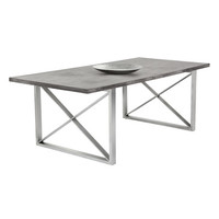 Sunpan Catalan Dining Table Concrete