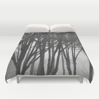Foggy Days  Duvet Cover by KCavender Designs