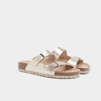 Double strap slides - Best Sellers - NEW IN | Oysho