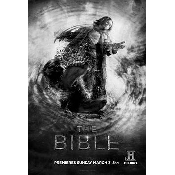 Bible poster Metal Sign Wall Art 8in x 12in Black and White