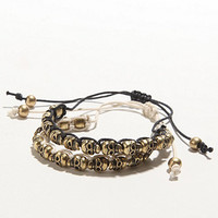 With Love From CA 2 Pack Skull Friendship Bracelets at PacSun.com