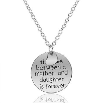 *FREE* The Love Between a Mother and Daughter is Forever Necklace
