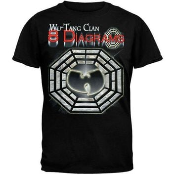 DCCK8UT Wu-Tang Clan 8 Diagrams Foil T-Shirt